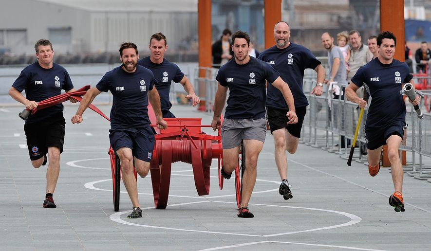 For the 16th World Police and Fire Games, scheduled to take place in Fairfax County in late June and early July, participants from police departments and fire companies from around the world compete in competitions similar to the Olympics. (World Police and Fire Games)