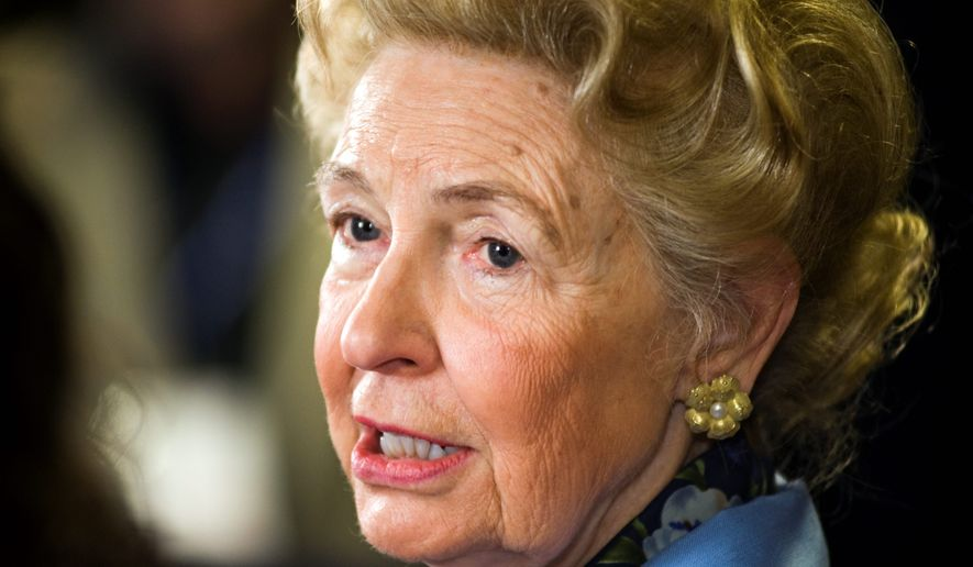 Phyllis Schlafly (Associated Press/File)