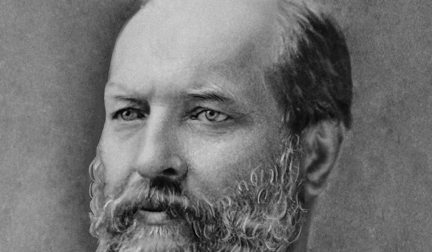 U.S. President James A. Garfield is shown in an undated photo. (AP Photo)