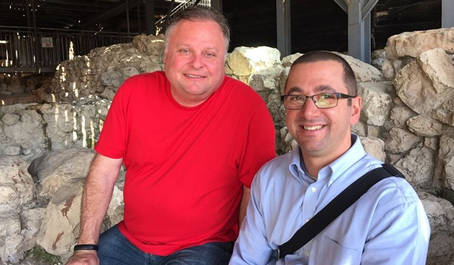 Rusty Humphries in the City of David