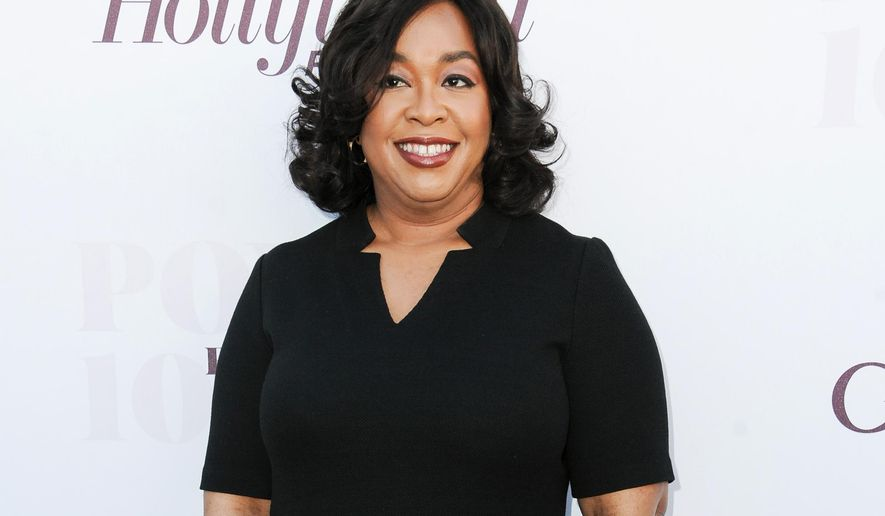 "FILE - In this Dec. 10, 2014, file photo, Shonda Rhimes arrives at the The Hollywood Reporter's Women In Entertainment Breakfast in Los Angeles. ABC is adding a fourth series next season from producer Shonda Rhimes, another drama topped by a tough female character. Rhimes' fraud investigation drama ""The Catch"" is one of 10 new series for ABC's 2015-16 schedule, the network announced Tuesday, May 12, 2015. (Photo by Richard Shotwell/Invision/AP, File)"