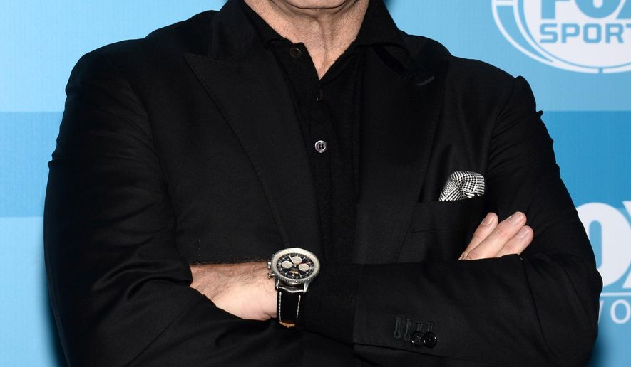 John Travolta arrives at the Fox Network 2015 Programming Upfront at Wollman Rink in Central Park on Monday, May 11, 2015, in New York. (Photo by Evan Agostini/Invision/AP)