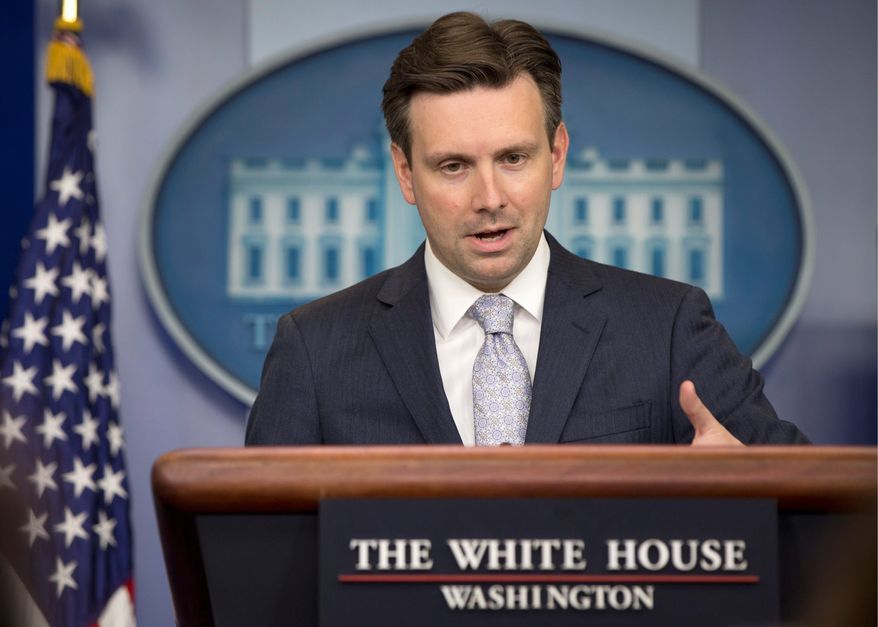 "White House press secretary Josh Earnest the House's 20-week abortion ban is ""disgraceful."" President Obama has vowed to veto the measure."
