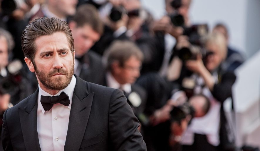 Jake Gyllenhaal arrives for the opening ceremony and the screening of the film La Tete en Haut (Standing Tall) at the 68th international film festival, Cannes, southern France, Wednesday, May 13, 2015. (Photo by Vianney Le Caer/Invision/AP)