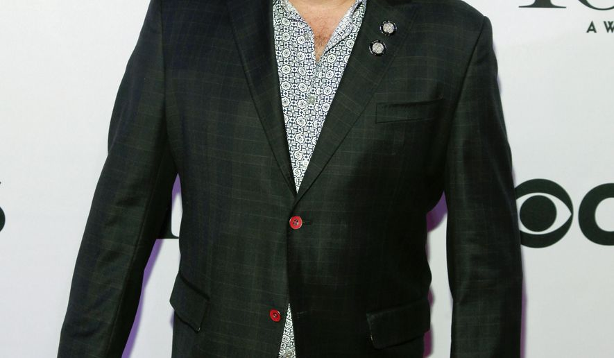 """FILE - In this April 29, 2015 file photo, Casey Nicholaw attends the 2015 Tony Awards Meet The Nominees Press Junket at The Paramount Hotel in New York. Nicholaw will direct the musical """"Tuck Everlasting,"""" opening on Broadway next year. (Photo by Andy Kropa/Invision/AP, File)"""