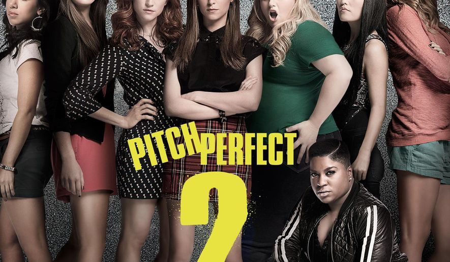 "This CD cover image released by Universal  Music Enterprises shows the original motion picture soundtrack for ""Pitch Perfect 2."" (Universal  Music Enterprises via AP)"