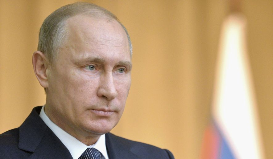 Russian President Vladimir Putin. (Associated Press)
