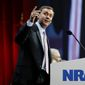 NRA's Chris Cox said predictions that more Americans carrying guns would lead to more deaths haven't proved true. (Associated Press)