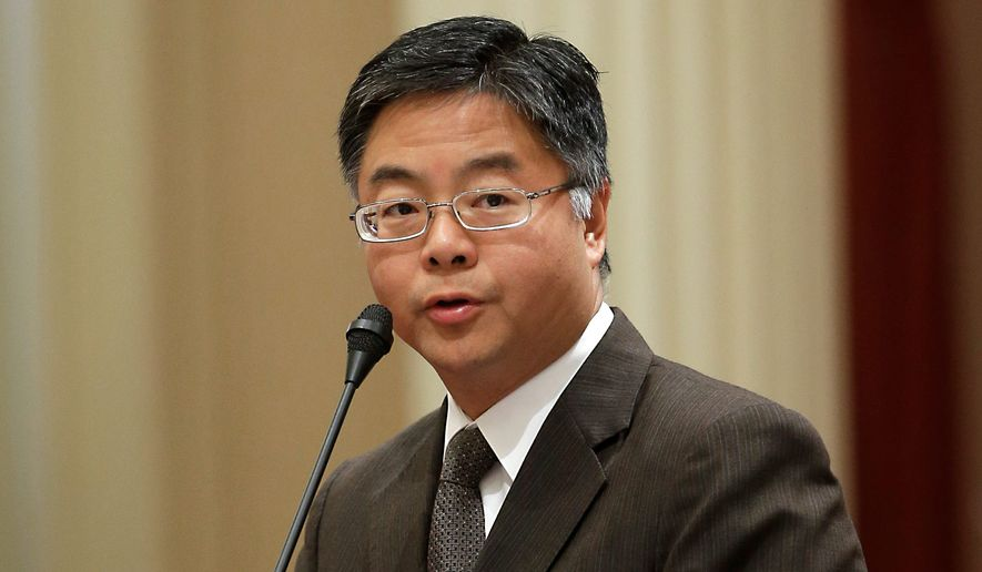 Rep. Ted Lieu, California Democrat, is sponsoring a bill to ban gay conversion therapy for minors, claiming it not a disorder. (Associated Press)