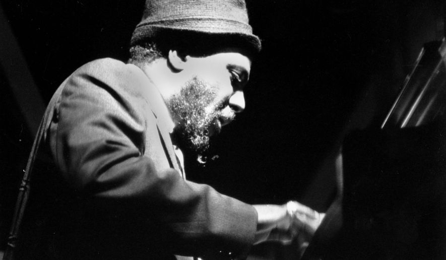Jazz pianist Thelonious Monk performs at the Newport Jazz Festival in Newport, R.I. on July 5, 1963.  (AP Photo)