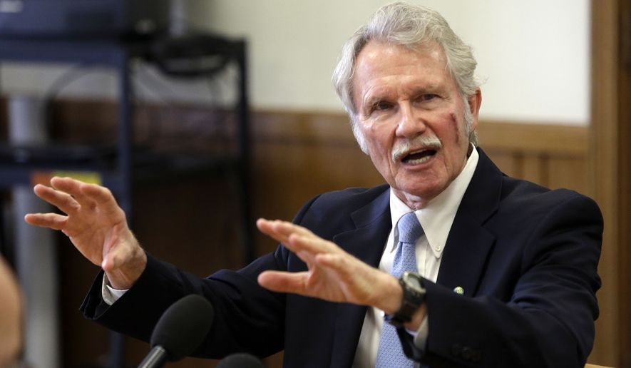 Oregon Gov. John Kitzhaber raised suspicion during his re-election campaign when he shut down the state's health care exchange. (Associated Press)