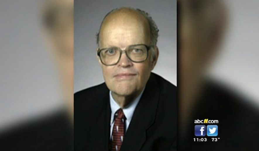 "Duke University has condemned Professor Jerry Hough following student backlash for ""noxious"" and ""offensive"" comments he posted online about blacks and Asians. (WTVD)"