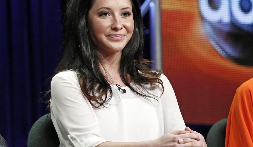 "FILE - In this July 27, 2012 file photo, Bristol Palin attends the ""Dancing with the Stars: All Stars"" panel at the Disney ABC Television Critics Association session in Beverly Hills, Calif. Former Alaska Gov. Sarah Palin says her daughter, Bristol, won't marry Medal of Honor recipient Dakota Meyer. The former Republican vice presidential candidate wrote Monday, May 18, 2015, on her verified Facebook account that the two said the wedding planned for May 23 will no longer be held. She didn't provide a reason. Bristol Palin announced the engagement in March, saying in a blog post that Meyer came to Alaska to film the ""Amazing America"" reality show with her mother last year. (Photo by Todd Williamson/Invision/AP, FIle)"