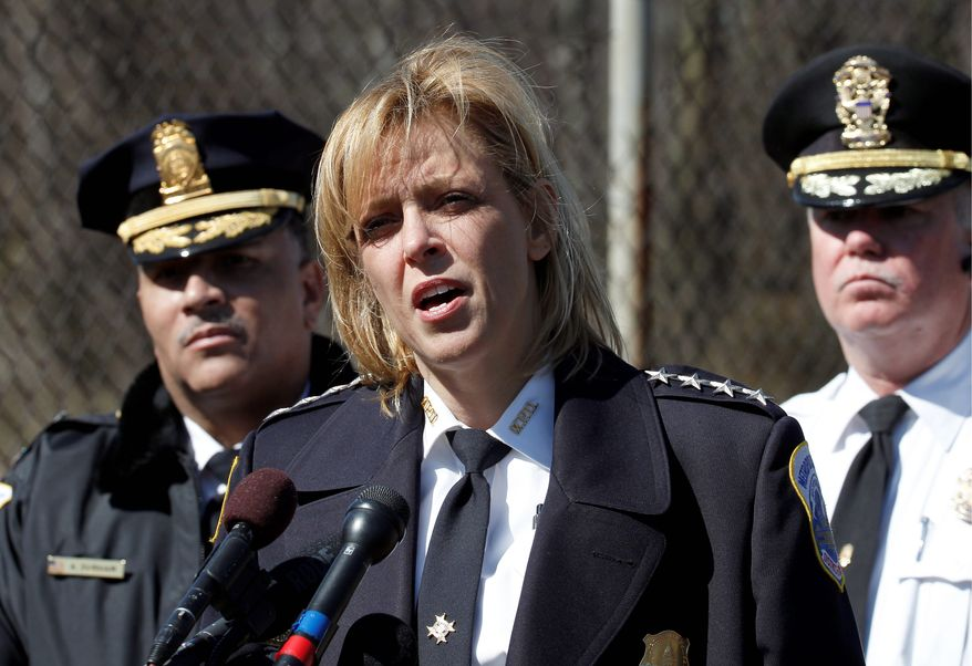D.C. police Chief Cathy L. Lanier. (Associated Press) ** FILE **
