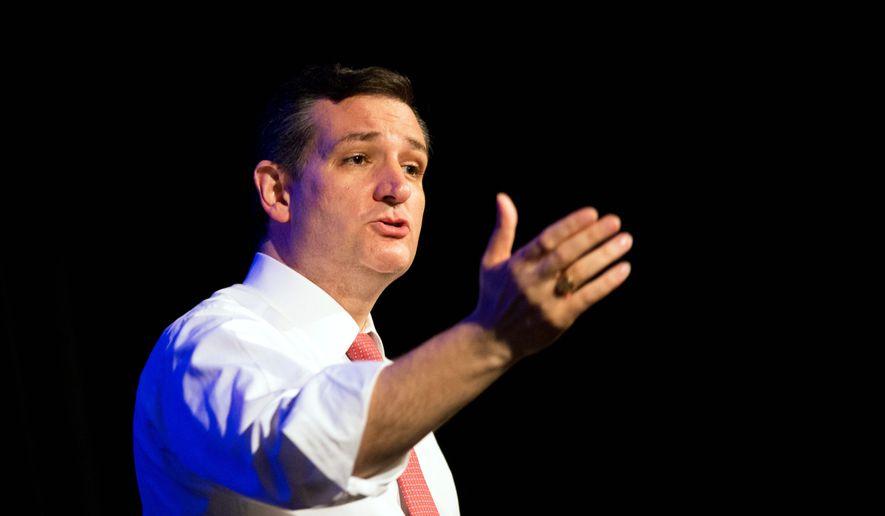 Republican presidential candidate Sen. Ted Cruz, R-Texas, (AP Photo/David Goldman)