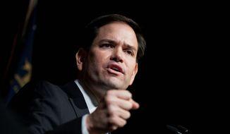 Republican presidential candidate Sen. Marco Rubio, R-Fla. (AP Photo/David Goldman)