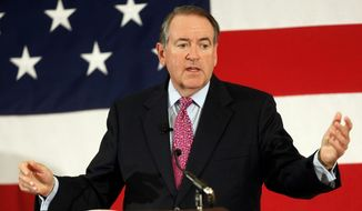 Former Arkansas Gov. Mike Huckabee (Associated Press) **FILE**