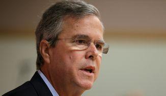 Former Florida Gov. Jeb Bush (AP Photo/Charlie Neibergall)