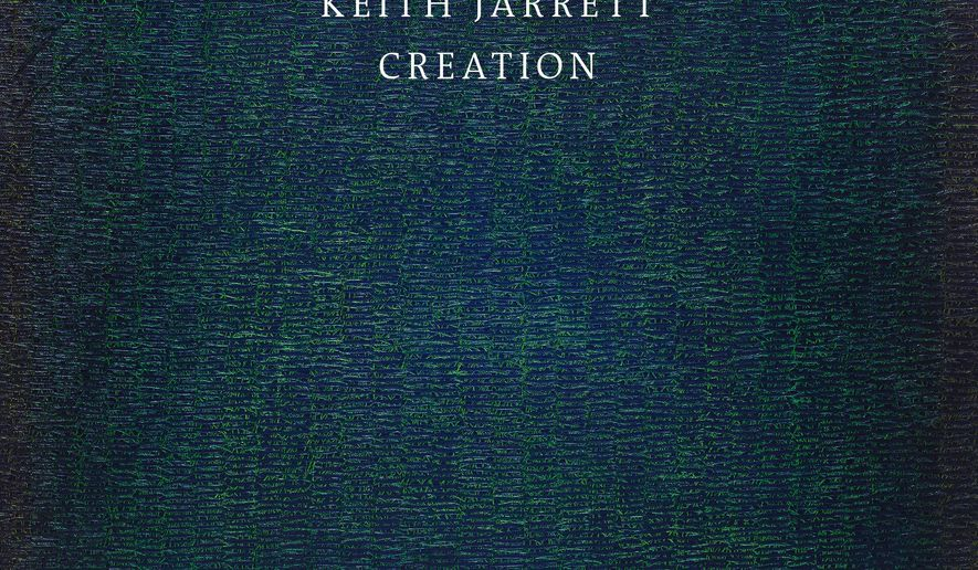 "This CD cover image released by ECM Records shows ""Creation,"" by Keith Jarrett. (ECM Records via AP)"
