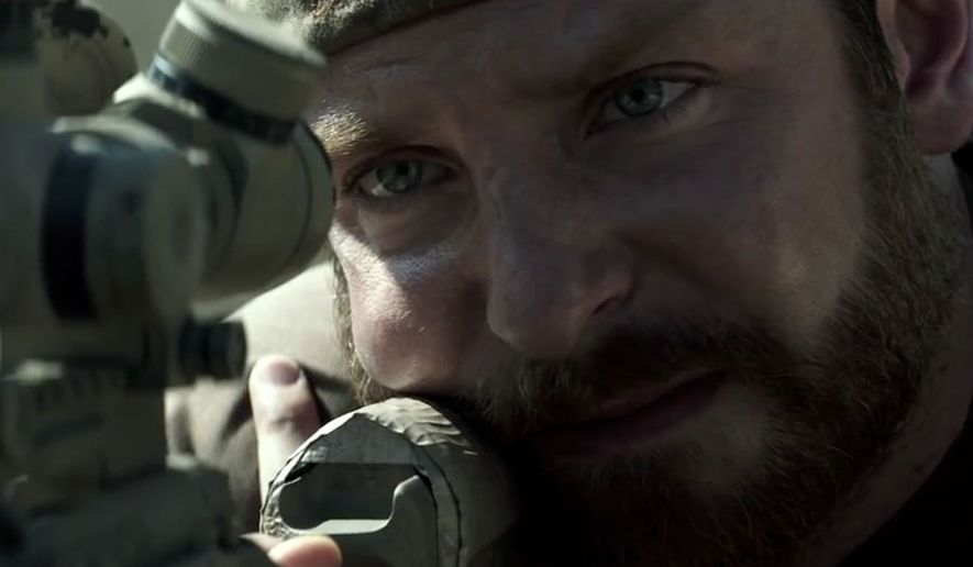 "Bradley Cooper stars as Chris Kyle, the most lethal sniper in U.S. military history, in ""American Sniper,"" now on Blu-ray. (Courtesy Warner Home VIdeo)"