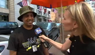 Ahmed Mohammed, a New York City hot dog vendor at Ground Zero, has caused several fights to break out after charging customers, particularly tourists, as much as $20 and $30 for a hot dog. (NBC New York)