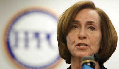 FEC Commissioner Ann Ravel fought back against allegations that Democrats had proposed regulations for Internet politicking. (Associated Press)