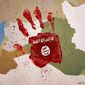 Bloody Hand of ISIS in the Mideast Illustration by M Ryder