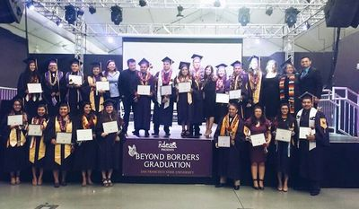 San Francisco State University (SFSU) held a special graduation ceremony on Sunday for students who are living in the U.S. illegally. (Facebook/IDEAS)