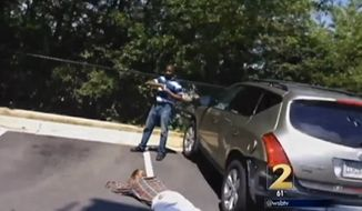 Hashim Fannin says he has no regrets after he turned the tables on a would-be carjacker and held him on the ground at gunpoint until Atlanta police arrived. (WSB-TV)