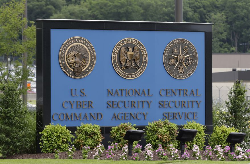 FILE In this June 6, 2013 file photo, a sign stands outside the National Security Agency (NSA) campus in Fort Meade, Md.   The National Security Agency has begun winding down its collection and storage of American phone records this week after the Senate failed to agree on a path forward to change or extend the once-secret program ahead of its expiration at the end of the month.  (AP Photo/Patrick Semansky, File) **FILE**