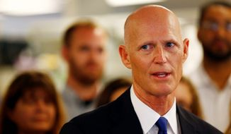 Florida Gov. Rick Scott. (Naples Daily News/Associated Press) ** FILE **