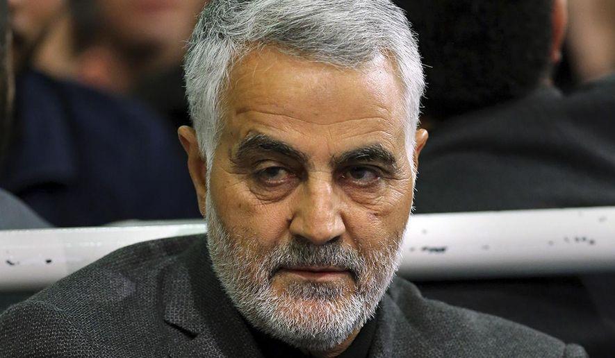 Qassem Soleimani (AP, File)