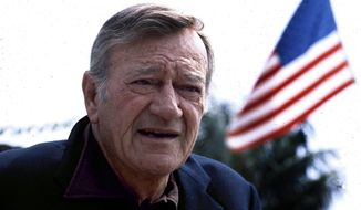 This 1978 file photo shows actor John Wayne. (AP Photo, File)