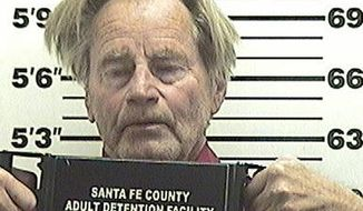 This booking photo provided by the Santa Fe County Jail shows actor and Pulitzer Prize-winning playwright Sam Shepard, who was arrested Monday on suspicion of drunken driving in Santa Fe, N.M. (Associated Press)