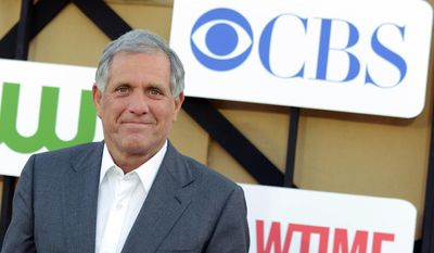 In this July 29, 2013, file photo, Les Moonves arrives at the CBS, CW and Showtime TCA party at The Beverly Hilton in Beverly Hills, Calif. (Photo by Jordan Strauss/Invision/AP, File)
