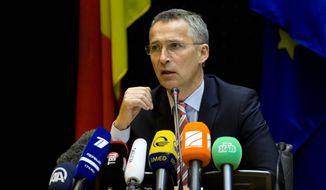 NATO Secretary General Jens Stoltenberg (AP Photo)