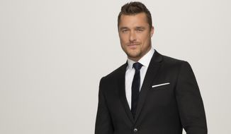 "This photo provided by ABC shows, Chris Soules, who starred in the 19th edition of ABC's hit romance reality series, ""The Bachelor,"" which returned to ABC in January 2015.  Soules and his fiancee Whitney Bischoff have split two months after the finale of the reality dating show where the couple got engaged.  (Craig Sjodin/ABC via AP)"