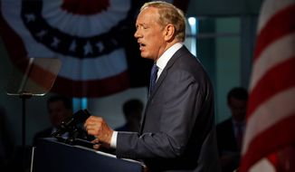 The crowded field of Republicans planning presidential bids for 2016 continues to grow as former New York Gov. George Pataki announced his plans Thursday at a town hall in Exeter, New Hampshire to jump into the race. (Associated Press)