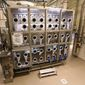 This Feb. 19, 2015, photo shows aerosol generation module of the Whole System Live Agent Test (WSLAT) at Dugway Proving Ground in Dugway, Utah. Centers for Disease Control and Prevention is investigating that aspect of what went wrong at Dugway Proving Ground, the Army installation in Utah that sent the anthrax to government and commercial labs in several states across the U.S. and to an Army lab in South Korea. (Kristin Murphy/The Deseret News via AP)
