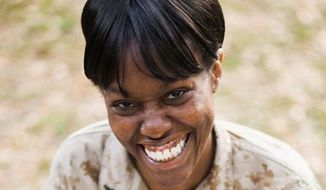 Former Lance Cpl. Monifa Sterling. (Image: Liberty Institute, Wynona Benson Photography)