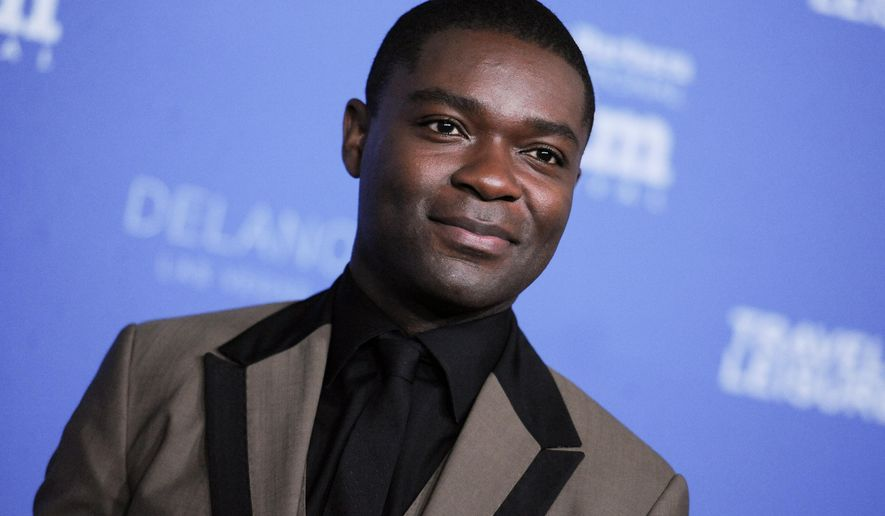 "FILE - In this Feb. 1, 2015 file photo, David Oyelowo arrives at the 30th Santa Barbara International Film Festival Virtuosos Award ceremony in Santa Barbara, Calif. Oyelowo stars in the HBO  single-character drama, ""Nightingale,"" debuting  9 p.m. EDT, Friday, May 29, 2015. (Photo by Richard Shotwell/Invision/AP, File)"