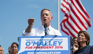 The new Democrat: Former Maryland Gov. Martin O'Malley announces his intent to enter the 2016 presidential race. (Associated Press)