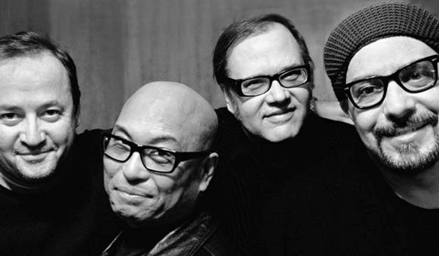 "The Smithereens: Jim Babjak, Severo ""The Thrilla"" Jornacion, Dennis Diken, Pat DiNizio"