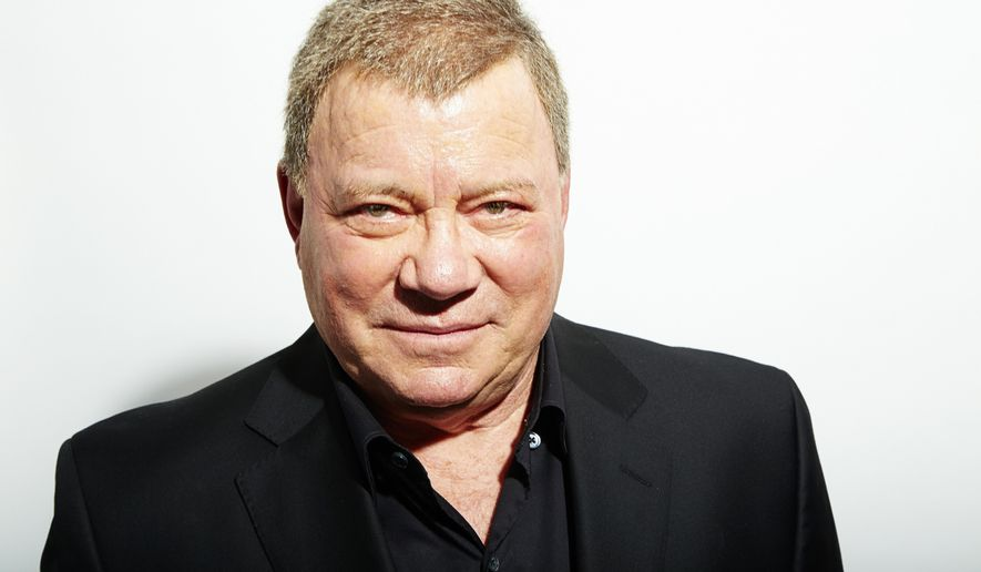 William Shatner poses for a portrait in New York, Oct. 15, 2013. (Photo by Dan Hallman/Invision/AP, File) ** FILE **