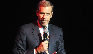 "Brian Williams has reportedly been permanently removed from the anchor chair at ""NBC Nightly News."" (Associated Press)"