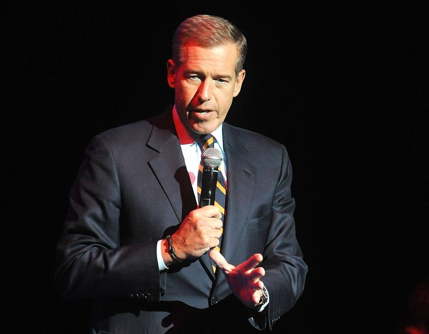 """Brian Williams has reportedly been permanently removed from the anchor chair at """"NBC Nightly News."""" (Associated Press)"""