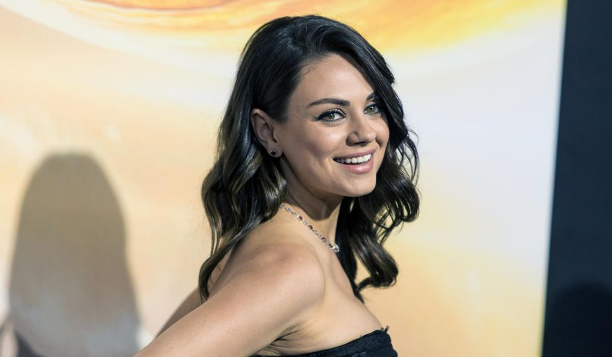 In this Feb. 2, 2015, file photo, actress Mila Kunis attends a premiere at TCL Chinese Theatre in Hollywood, Calif. Authorities are looking for a man sentenced for stalking Kunis after he escaped from a mental health facility in Southern California, on Saturday, May 30, 2015. (Photo by Paul A. Hebert/Invision/AP, File)
