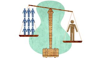 Class Action Illustration by Greg Groesch/The Washington Times