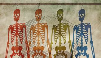 Skeletons in the Closet Illustration by Greg Groesch/The Washington Times
