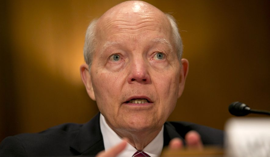 Internal Revenue Service Commissioner John Koskinen (Associated Press) **FILE**